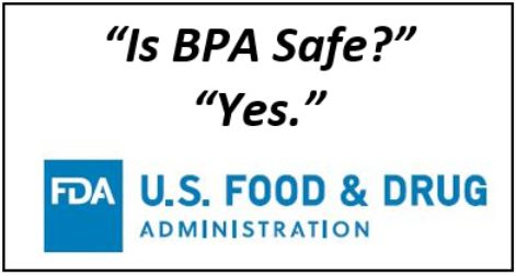 BPA is Safe